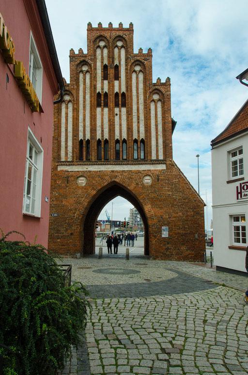 Das Wassertor, Stadtseite