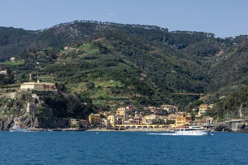 Monterosso in Sicht