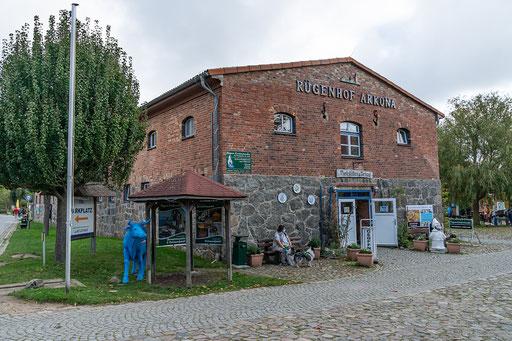 Der Rügenhof, die Kulturscheune in Putgarten.