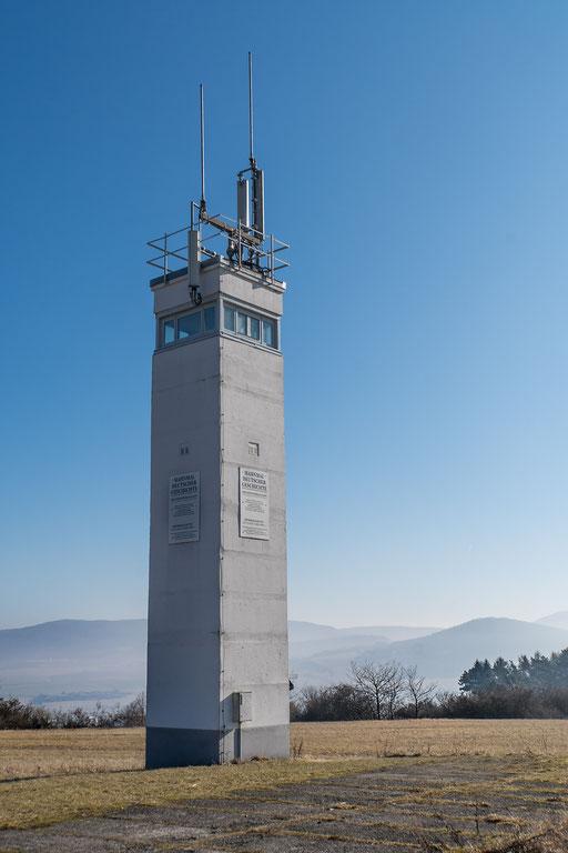 Wachturm der DDR-Grenztruppe