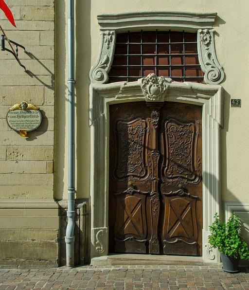 Ein schönes Eingangsportal