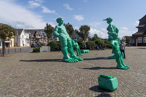 Die grüne Familie Riese geht auf Reisen