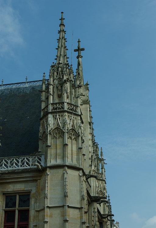 Rouen; Der Sitz des Parlamentes der Normandie