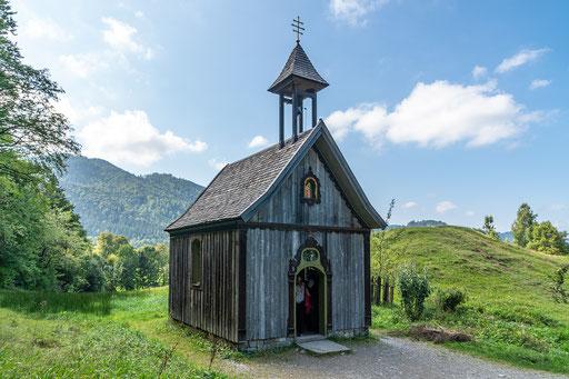 Die Kapelle der Familie Markus Wasmeier
