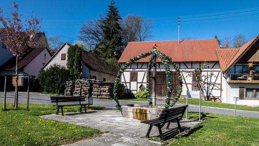 Brunnen an der Bronnbacher Straße,  Külsheim; TBB