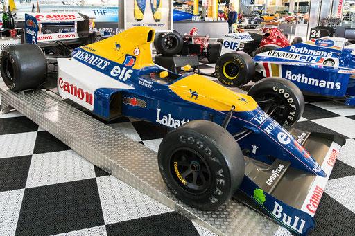 Williams FW 14; 700 PS; Baujahr: 1992