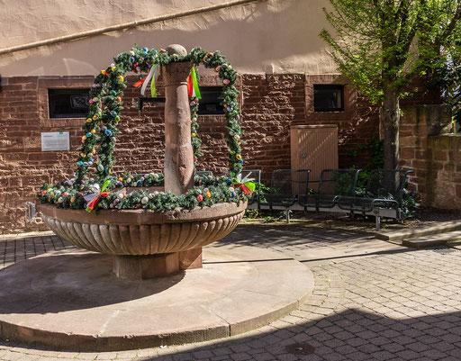 Spitalbrunnen, Külsheim, TBB
