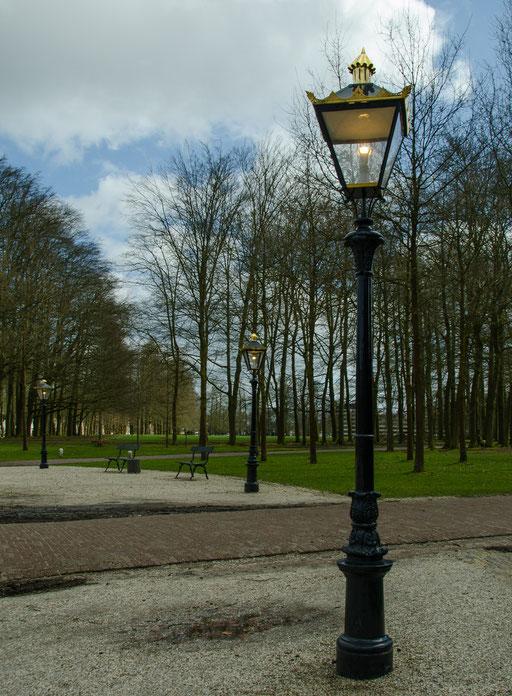 Palais Het Loo, Laternen im Park