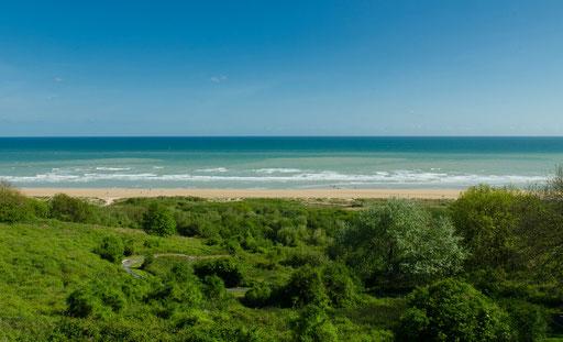 Bereich des Landungabschnitts Omaha Beach