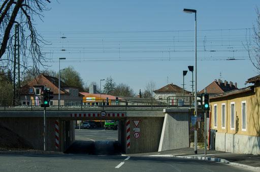 Kaltensondheimer Straße, Eisenbahnunterführung