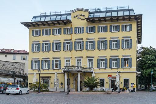 Das Grand Hotel RIVA im gleichnamigen Ort direkt am Gardasee gelegen
