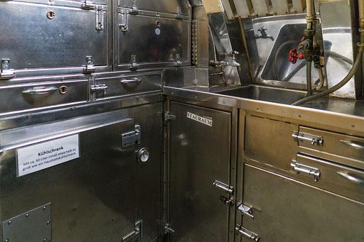 Unterseeboot U-9, Kombüse