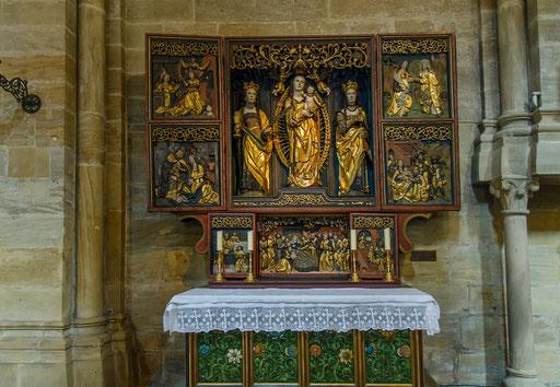 Der Kirchgattendorfer Altar im Bamberger Dom