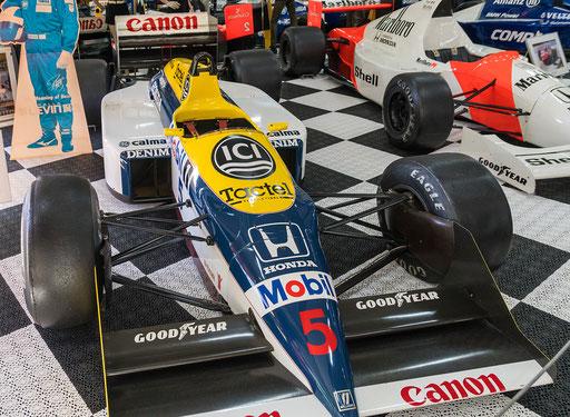 Williams FW 11 B; 850 PS; Baujahr: 1987