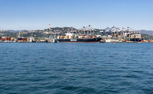 Industriehafen von La Spezia