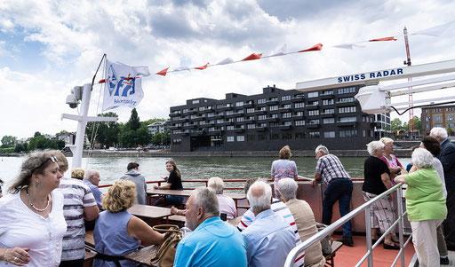 Die superteuren Luxussuiten am alten Hafen direkt am Wasser gebaut