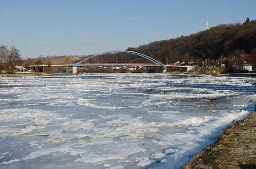 Neue Mainbrücke: Segnitz - Marktbreit