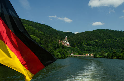 Das Schloß Zwingenberg