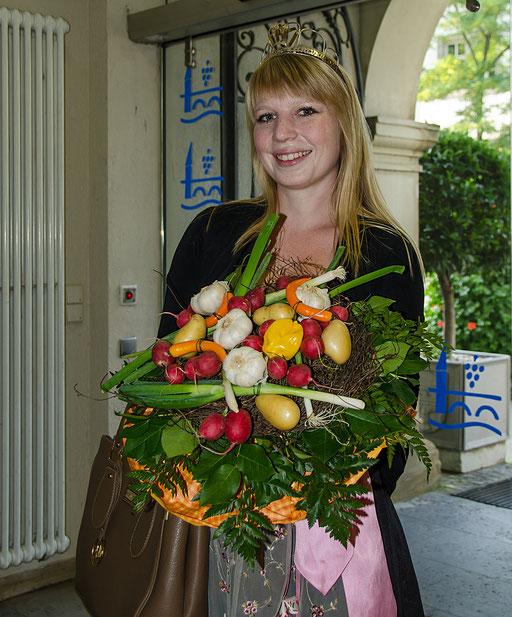 Gärtnerkönigin Kristin