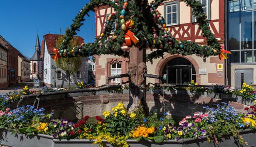 Rathausbrunnen, Külsheim, TBB