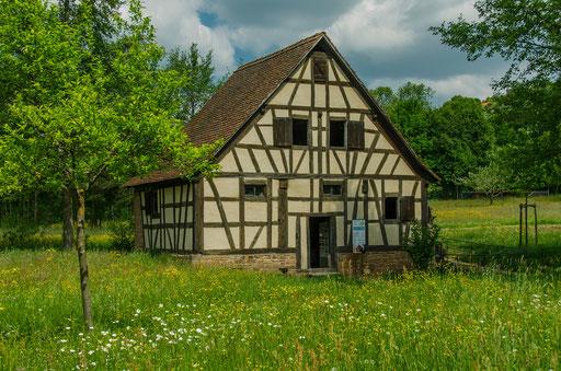 Ölschlagmühle aus Wiesthal, Landkreis Main-Spessart