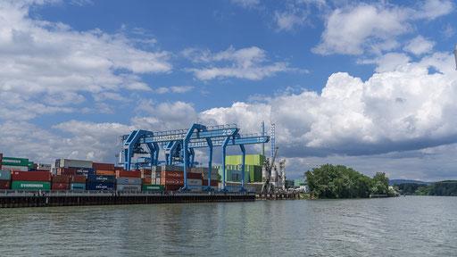 Der Mainzer Containerhafen