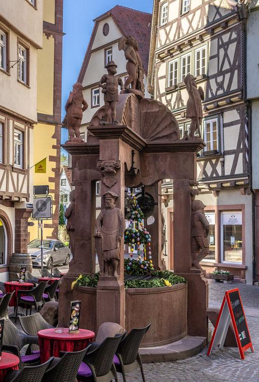 Engelsbrunnen, Wertheim, TBB