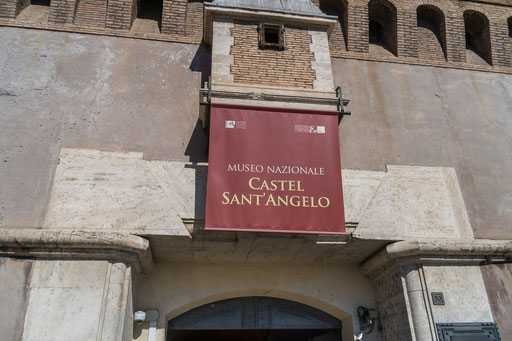 Eingang zum Nationalmuseum Castel Sant' Angelo