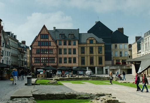 Rouen; Der Marktplatz