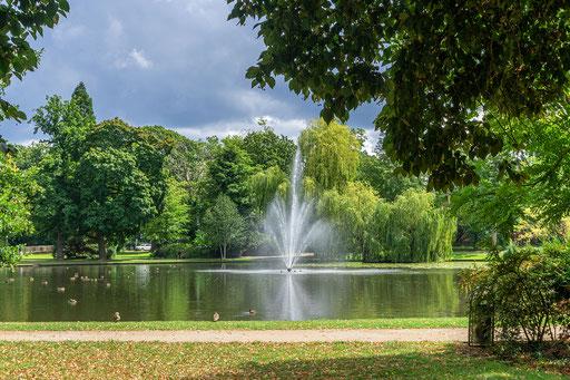 Springbrunnen im Silbersee