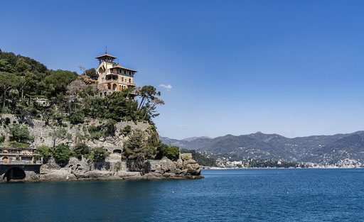 Auf dem Seeweg nach Portofino