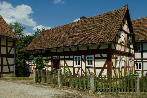Bild aus dem Rhöner Museumsdorf Tann