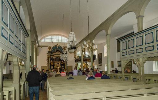 Innenraum...   /Seemannskirche