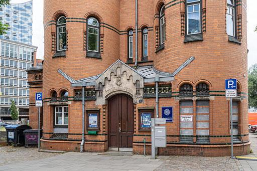 Polizeiwache - Hafen Hamburg