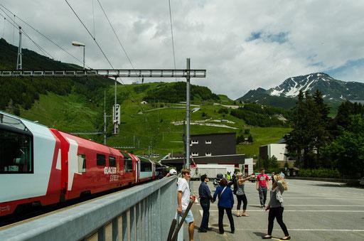 Im Bahnhof Andermatt