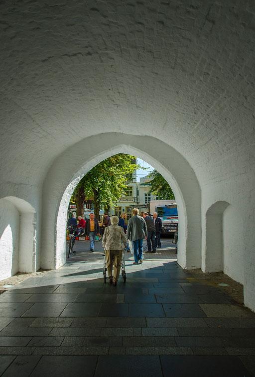 Durchgang vom Marktplatz zur Schlachterstraße