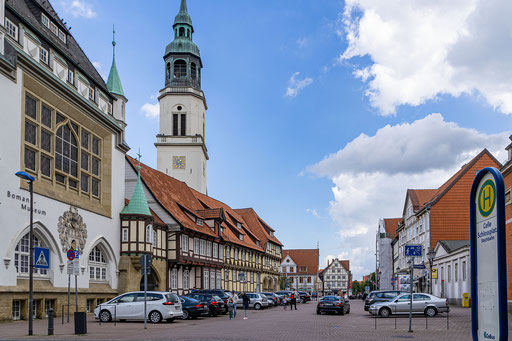 Turm der Stadtkirche St. Marien
