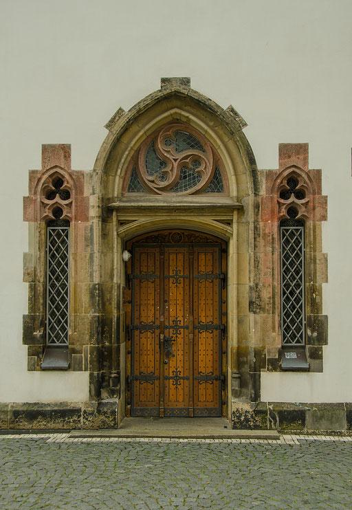 Thomaskirche, Eingang zur Sakristei