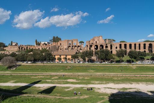 """Das Areal des """"Circus Maximus"""""""