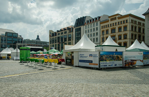 Markt, Stadt Leipzig