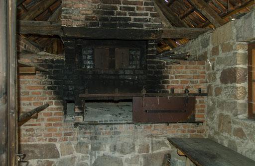 Backhaus, Bild aus dem Rhöner Museumsdorf Tann