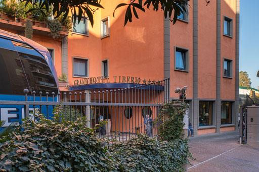 Das Grand Hotel Tiberio