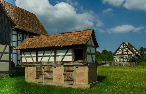 Hofstelle aus Mühlfeld, Landkreis Rhön-Grabfeld