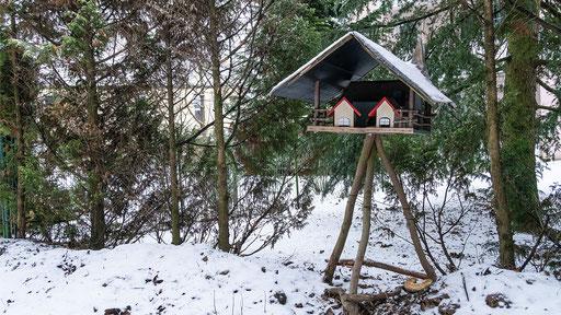 Futterhaus mit Einliegerwohnungen