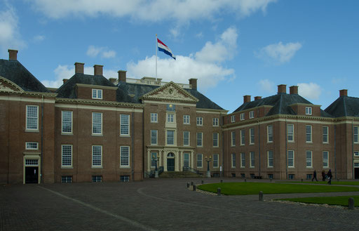 Palais Het Loo, Innenhof