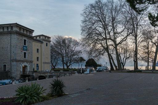 Abenddämmerung in Riva