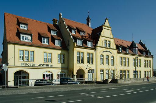 Hindenburgring Süd, Altes Krankenhaus
