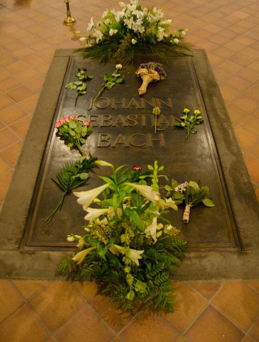Thomaskirche, letzte Ruhestätte des berühmten Kirchenmusikers Johan Sebastian Bach