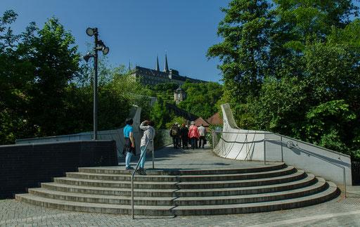 Der Weg zum Domberg