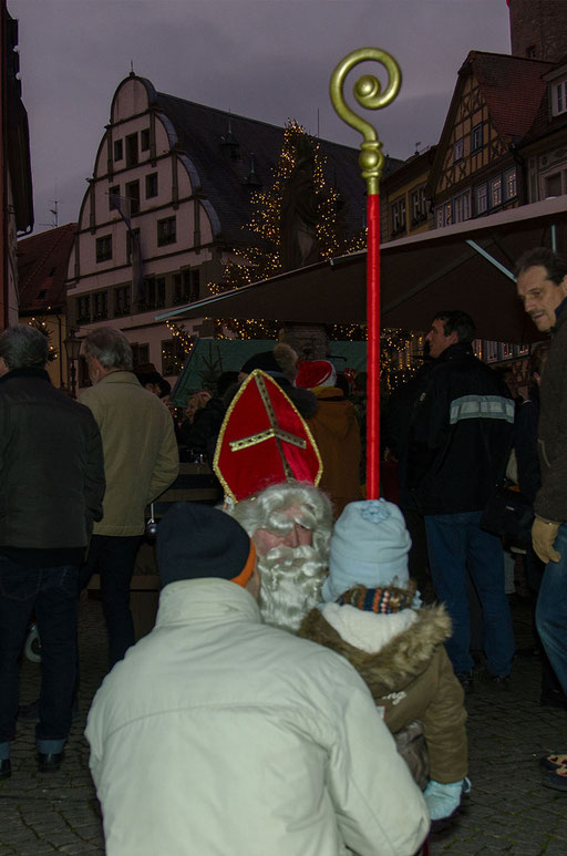 Walter Vierrether's Nikolausrock 2013 (Marktplatz Kitzingen)